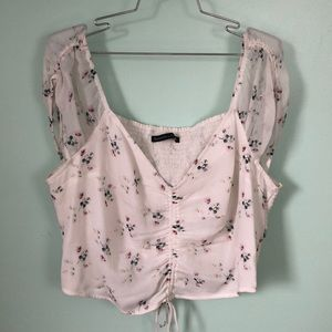 ABERCROMBIE & FITCH Patterned Top